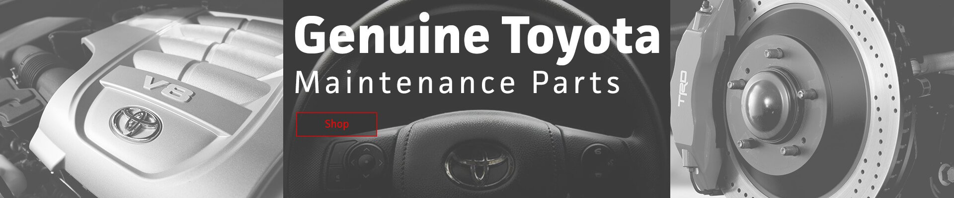 Genuine Toyota Maintenance Parts