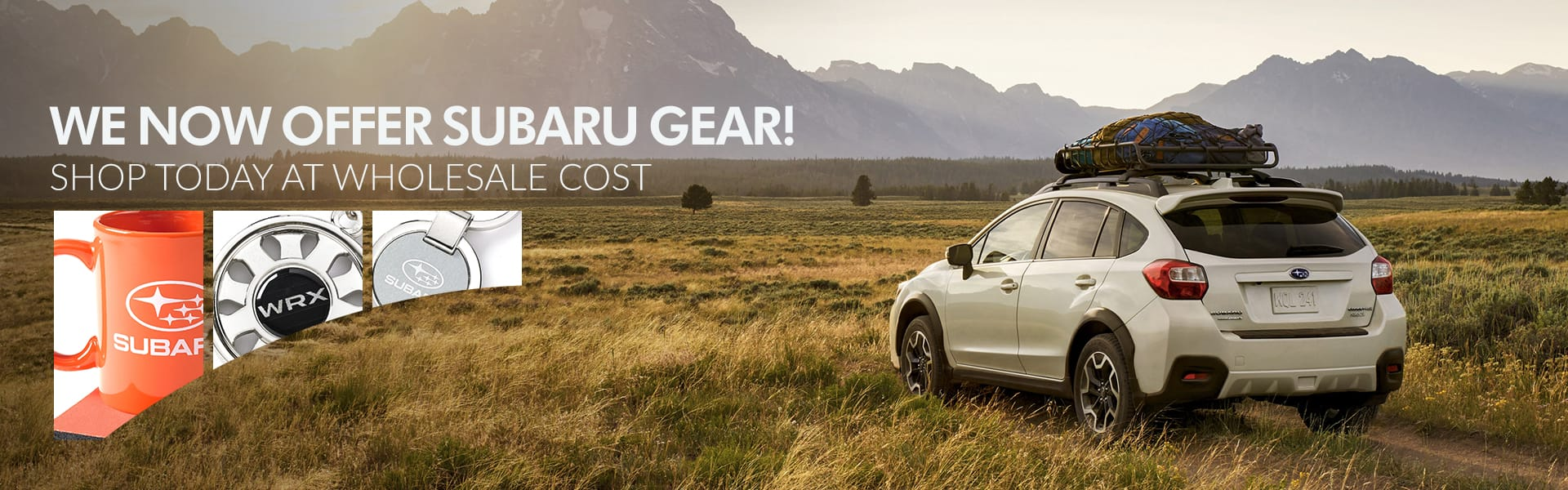 Official Subaru Gear at wholesale cost