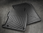 All-Season Floor Mats, Black - Coupe