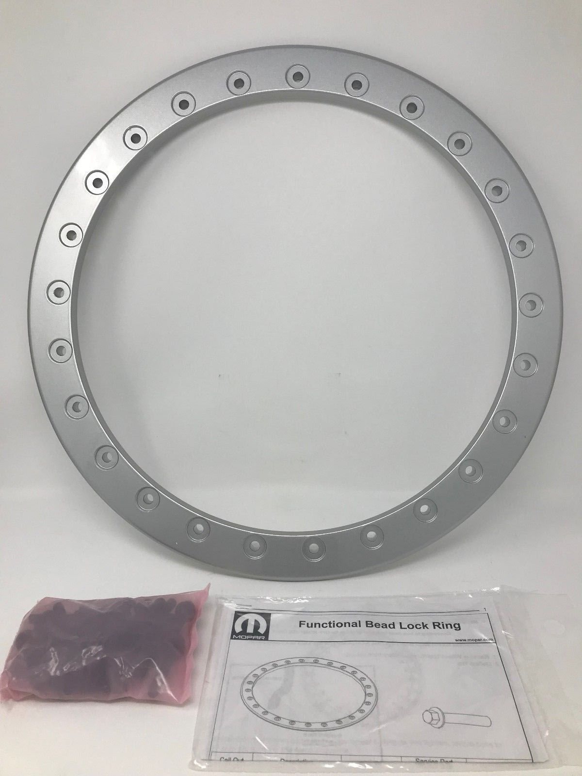 Wheel, 17 Inch - Bead-Lock