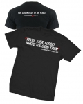 "New ""Never Ever Forget"" Dodge Tshirt T-Shirt T Shirt Black 2Xl"