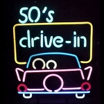 New 50s Drive In Neon Sign By Neonetics 5Drive