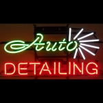 New Auto Detailing Neon Sign By Neonetics 5Dtail