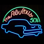 New Fabulous 50S Neon Sign By Neonetics 5Fab50