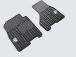 SLUSH MATS - FRONT BLACK - REGULAR/QUAD CAB
