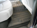 MAT KIT-FLOOR REAR - CREW CAB - CANYON BROWN