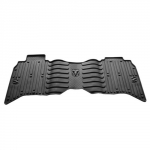 MAT KIT-FLOOR REAR - MEGA CAB - BLACK