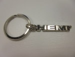 New Chrysler Dodge Jeep Ram Silver Hemi Key Chain Tag