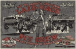 Pin up  Pinup Pit Crew 55 Gasser Camaro Hot Rod Man Cave Bar Canvas Banner Sign