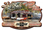 "Chevrolet Garage Mechanic Hot Rod Man Cave Bar Sign 21"" X 15"" Embossed Metal New"