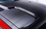 08-14 Dodge Challenger Authentic Mr. Norm's Challenger Carbon Fiber Hood