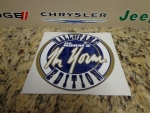 08-15 Challenger New Mr. Norm's Hall Of Fame Edition Fender Decal Emblem Blue