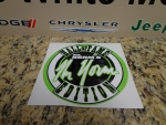 08-15 Challenger New Mr. Norm's Hall Of Fame Edition Fender Decal Emblem Green