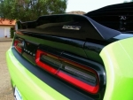 08-15 Dodge Challenger New Mr Norms Speedway Rear Decklid Spoiler Satin Black