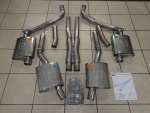 2015 Dodge Challenger Cat Back Exhaust System Mopar Performance 5.7L Hemi Oem