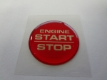 "Keyless Go Push Button Decal ""Engine Start Stop"""