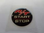 "Keyless Go Push Button Decal ""RT Start Stop"""