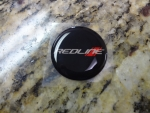 "Keyless Go Push Button Decal ""Redline"""