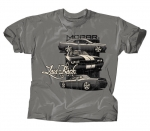 Laid-Back Garage Mopar Dodge Lb Tri Challenger T-Shirt T Shirt Grey Large New