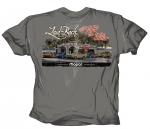 Laid-Back Garage Mopar Dodge Do The Fillin You Do The Chillin T Shirt Grey Xxl
