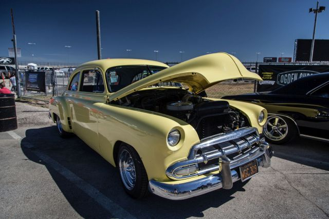 1951 chevy 2 door