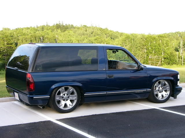 Navy Blue tahoe