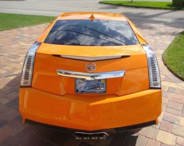 Cadillac CTS custom rear