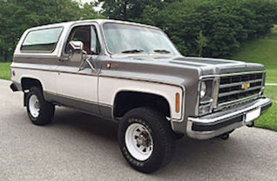Chevy K5 Blazer parts