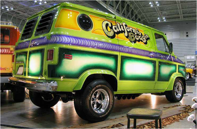 Wild chevy van paint 5