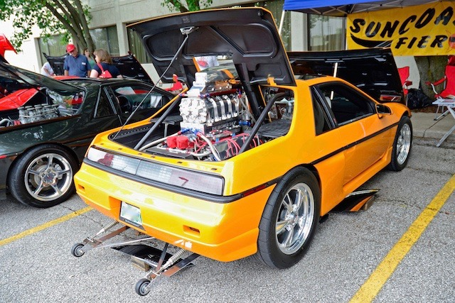 Fiero engine