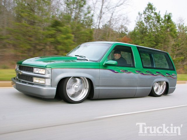 Green gray tahoe
