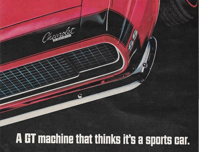 Camaro ad gt machine