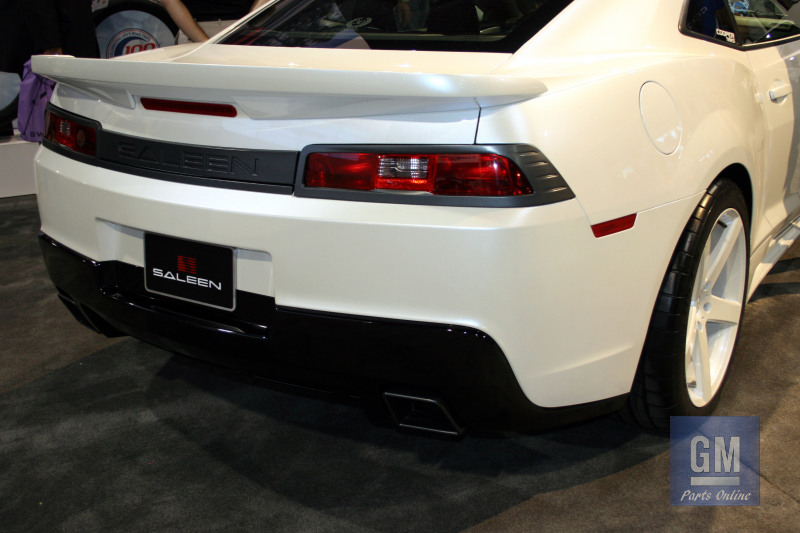 pearl white saleen camaro-rear