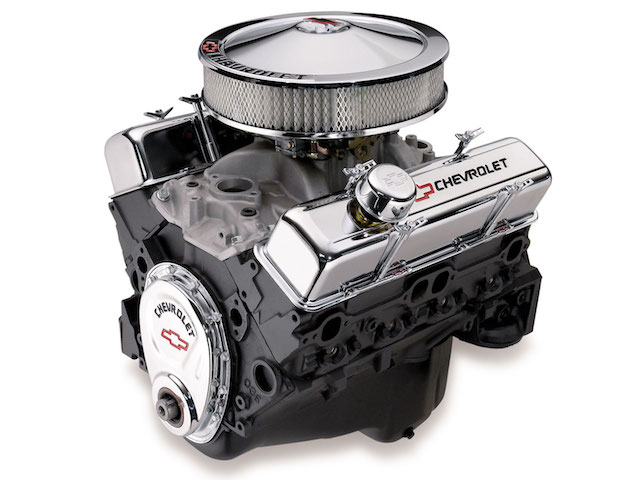 Chevy small block engine