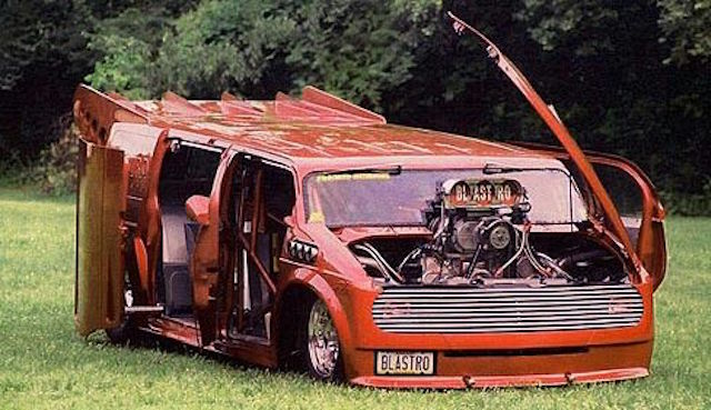 Wild chevy van paint 9