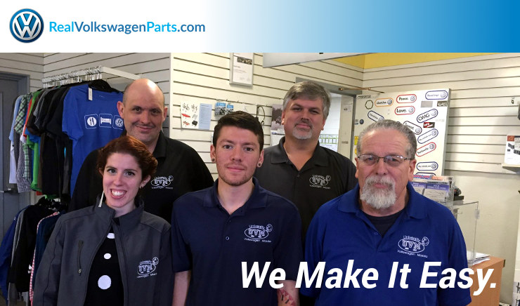 The REAL Volkswagen Parts Team