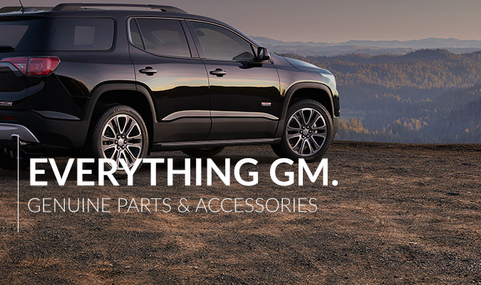 Everything GM - Genuine Parts and Accessories