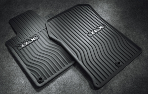 2009-2014 TL FLOOR MATS, ALL-SEASON (EBONY)