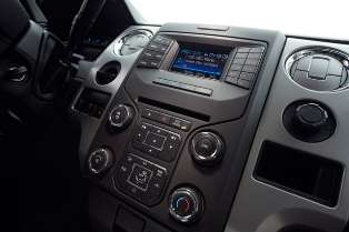 Ford F-150 with Sirius radio