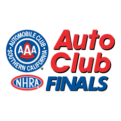 Auto Club NHRA Finals logo