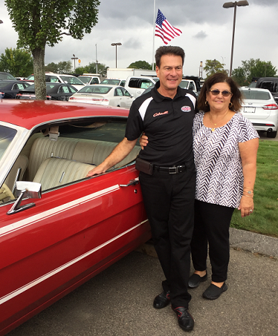 Bob Tasca, Jr reunited with his 1968 Ford Torino.