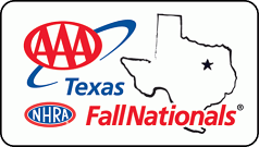 AAA Texas NHRA FallNationals logo