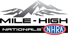 Mile-High NHRA Nationals logo
