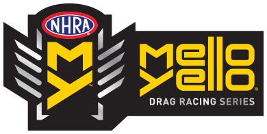 NHRA Mello Yello Drag Racing series logo