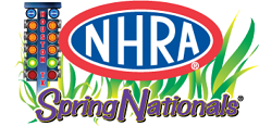 NHRA Spring Nationals logo