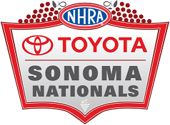 Toyota NHRA Sonoma Nationals logo