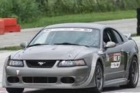 Jon Winker has modified his 2002 ROUSH Mustang for adaptive driving.