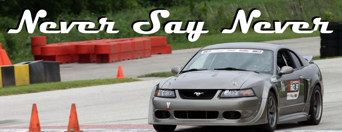 Jonathan Winker is a disabled Army Veteran who has had his 2002 ROUSH Mustang modified for adaptive driving and racing