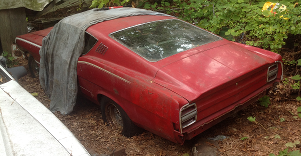 1968 Ford Torino before restoration
