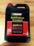 ANTIFREEZE COOLANT- (1 GAL. BOTTLE)